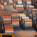 China's steel production jumps 10 million tonnes